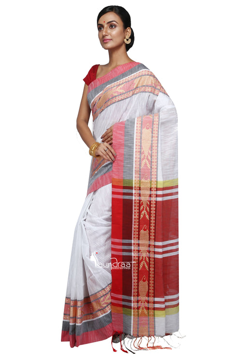 Handloom Cotton Fish Saree