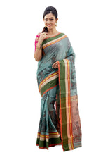 Traditional Handloom Kantha On Tant - Saree