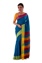 Multi-coloured-Khadi-Cotton-Designer-Saree-SNHK1602-2