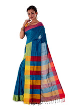 Multi-coloured-Khadi-Cotton-Designer-Saree-SNHK1602-3