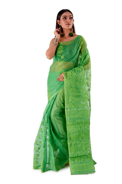 Light-Green-Traditional-Dhakai-Jamdani-SNJMA3004-1