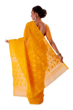 Yellow-Traditional-Dhakai-Jamdani-SNJMB3001-4