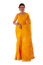 Yellow-Traditional-Dhakai-Jamdani-SNJMB3001-1