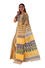 Beige-with-Multi-coloured-design-Traditional-Dhakai-Jamdani-SNJMB3005-3