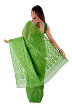 Parrot-Green-Traditional-Dhakai-Saree-SNJMB4004-4