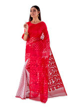 Red-and-White-Traditional-Dhakai-Saree-SNJMB4008-3