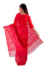 Red-and-White-Traditional-Dhakai-Saree-SNJMB4008-4