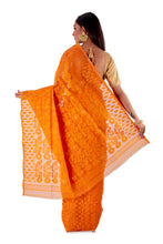 Pumpkin-Orange-Traditional-Dhakai-Saree-SNJMB4011-4