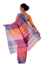 Pink-Traditional-Cotton-Dhakai-Jamdani-SNJMC1101-4