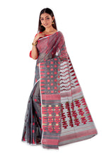 Blackish-Grey-Traditional-Cotton-Dhakai-Jamdani-SNJMC1204-3