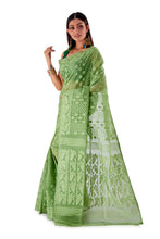 Mosh-Green-Traditional-Cotton-Dhakai-Jamdani-SNJMC1501-3