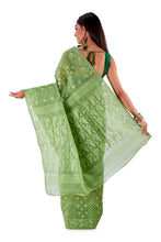 Mosh-Green-Traditional-Cotton-Dhakai-Jamdani-SNJMC1501-4