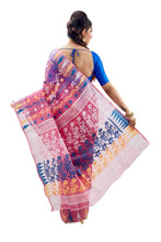 Bubble Pink Traditional Dhakai Jamdani - Saree