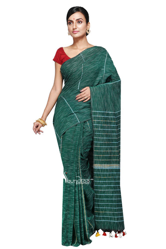 Green Khesh Nirjhara - Saree