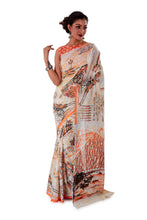 White-base-block-printed-mulmul-designer-saree-SNML1001-2
