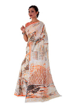 White-base-block-printed-mulmul-designer-saree-SNML1001-3