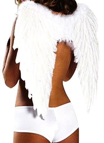 Wings of An Angel Halloween Props-Costume Props-HappyBirthdayGirl