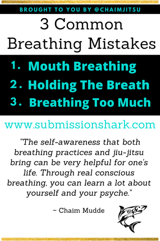 3 Common Breathing Mistakes BJJ Practitioners Make