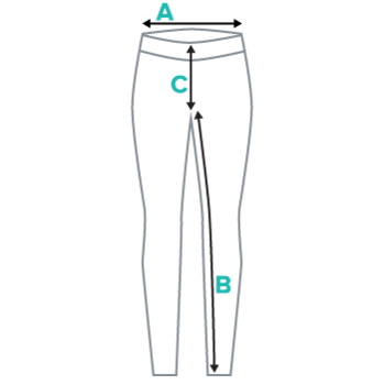 Women's Leggings Submission Shark Size Chart