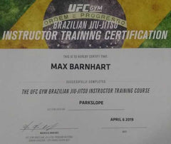 UFC Gym Certified Instructor Max Barnhart
