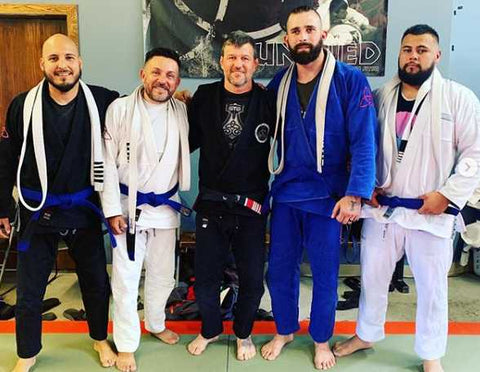 Cruz Soto and His Training Partners