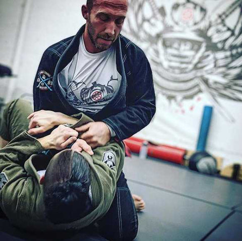 Eric Falstrault Training BJJ