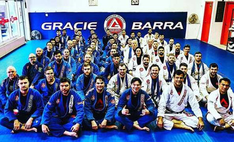 Gracie Barra West Island Training Team