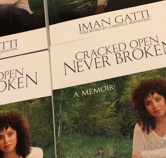 Iman Gatti's book: Cracked Open Never Broken