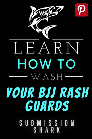 Learn how to wash your BJJ rash guard