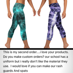 Submission Shark Womens BJJ Spats