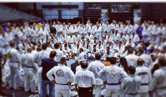 Largest Jiu Jitsu seminar in history. Again. Thank you Rickson Gracie.