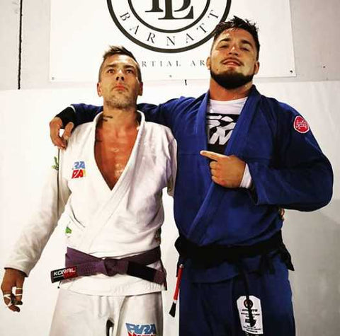 Miko Hytonen and His BJJ Professor
