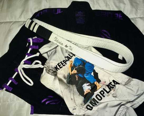Omoplata Jiu-Jitsu Rash Guard and Gi