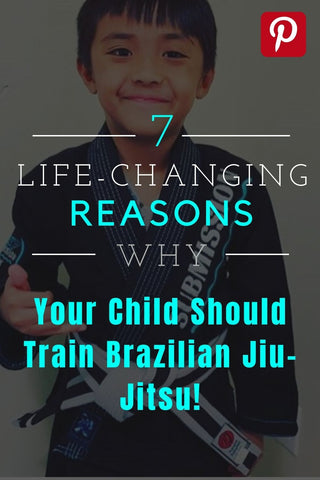 Pinterest graphic of the reasons why your child should train BJJ