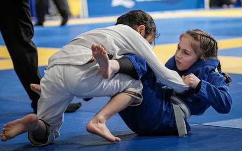 Raina BJJ Competition Pans Kids