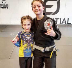 Sophie Dogg BJJ and Raina jiu jitsu girls picture