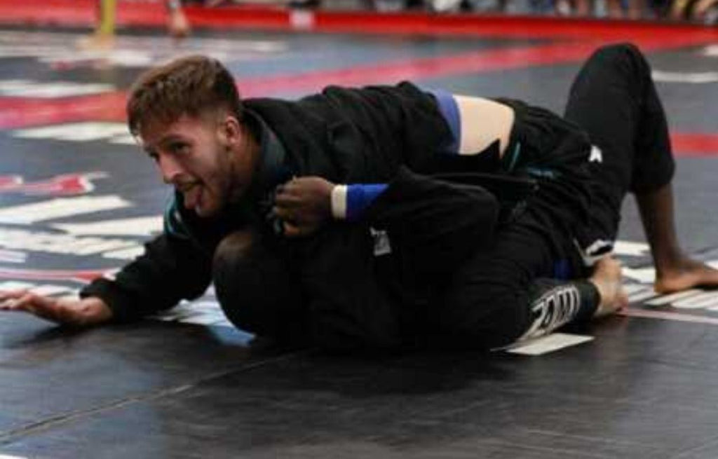 Black Jiu Jitsu Gi and Jiu Jitsu Competition