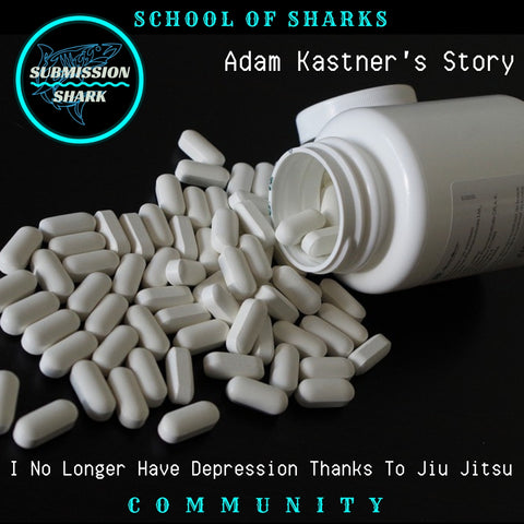 I No Longer have Depression Thanks To Jiu Jitsu | Adam Kastner's Story
