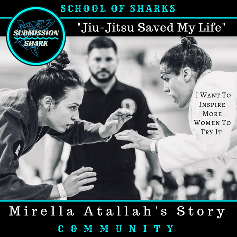 Jiu-Jitsu Saved My Life And Now I Want To Inspire More Women To Try It | Mirella Atallah's BJJ Story