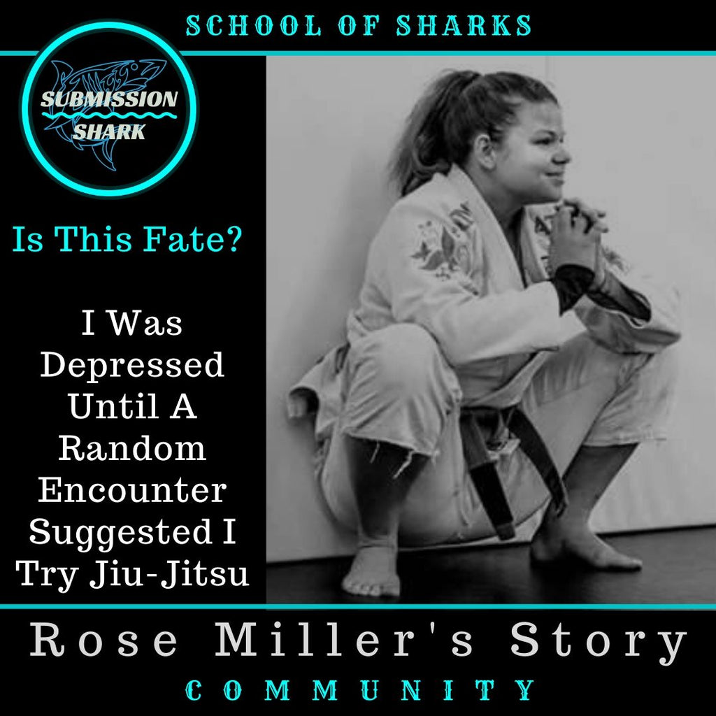 Rose Miller talks about how jiu jitsu helps her through depression
