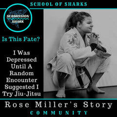 Is This Fate? I Was Depressed Until A Random Encounter Suggested BJJ | Rose Miller's Story