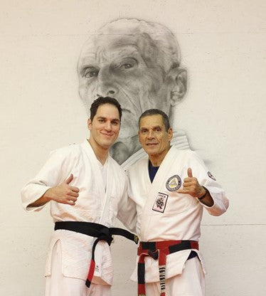 Steven Abood and Relson Gracie BJJ