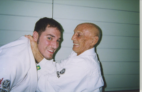 Steven Abood and Helio Gracie