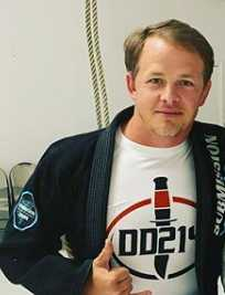 Thomas Lewis In A Submission Shark BJJ Gi