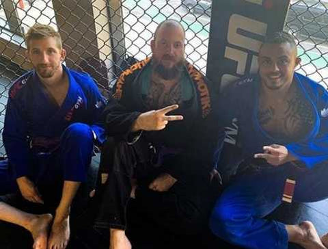 Brazilian Jiu-Jitsu Training Friends
