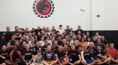 Training Partners at Renzo Gracie BJJ Gym