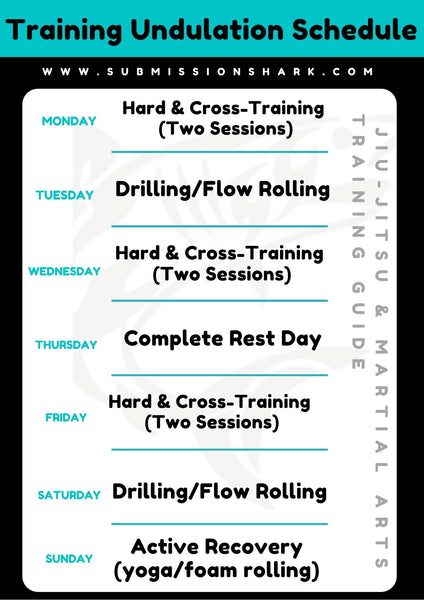 Training Undulation Schedule