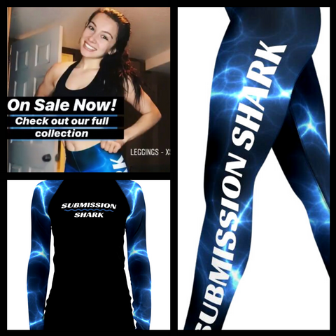 Danielle Kelly in Submission Shark bjj spats