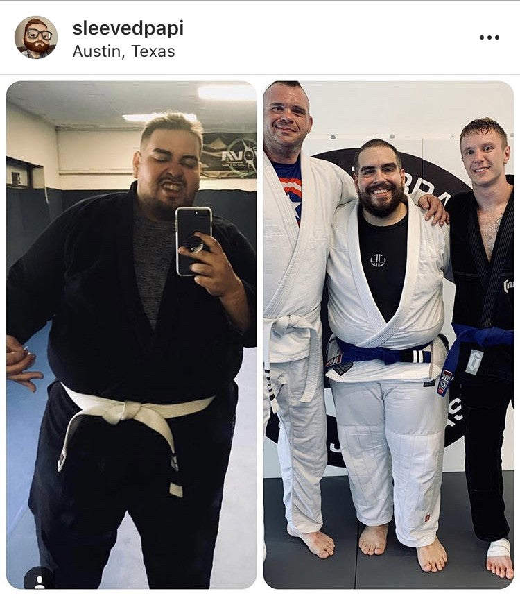 Weight Loss From BJJ
