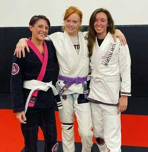 Women Training Partners Jiu-jitsu